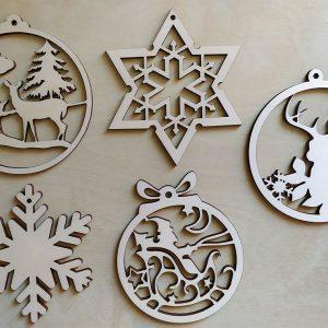 Vianočné ozdoby a dekorácie